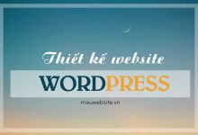 Dịch vụ thiết kế website Wordpress bảo mật cao - chuẩn seo