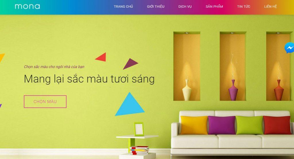 Công ty thiết kế website chuyên nghiệp trong nhiều lĩnh vực