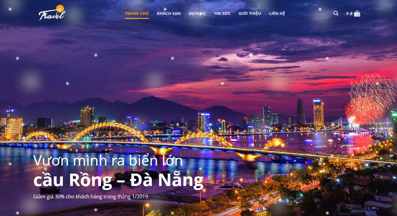 Thiết kế website bán tour du lịch