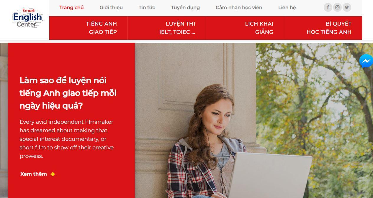 Dịch vụ thiết kế website giáo dục chuyên nghiệp