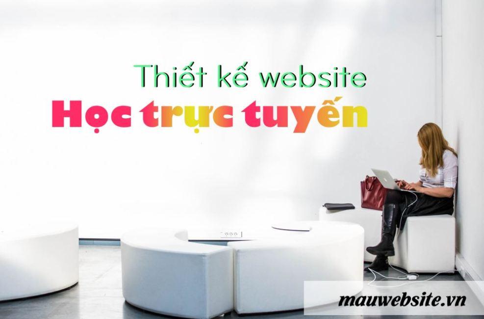 Dịch vụ thiết kế website học trực tuyến - Elearning