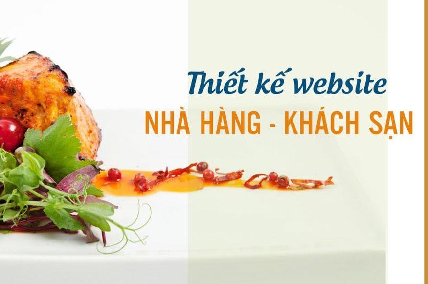 Công ty thiết kế website nhà hàng - khách sạn - resort
