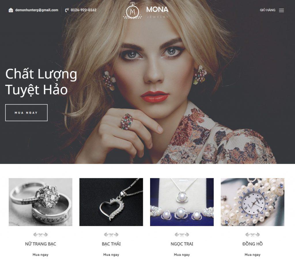 Nhiều tính năng nổi bật khi chọn dịch vụ thiết kế web tại Mona