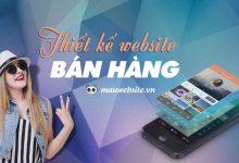 Công ty thiết kế website bán hàng chuẩn seo - chuyên nghiệp