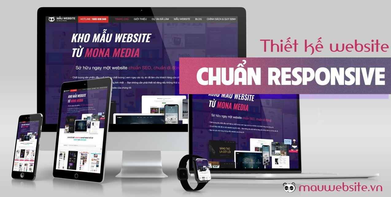 Công ty thiết kế website responsive - đa nền tảng