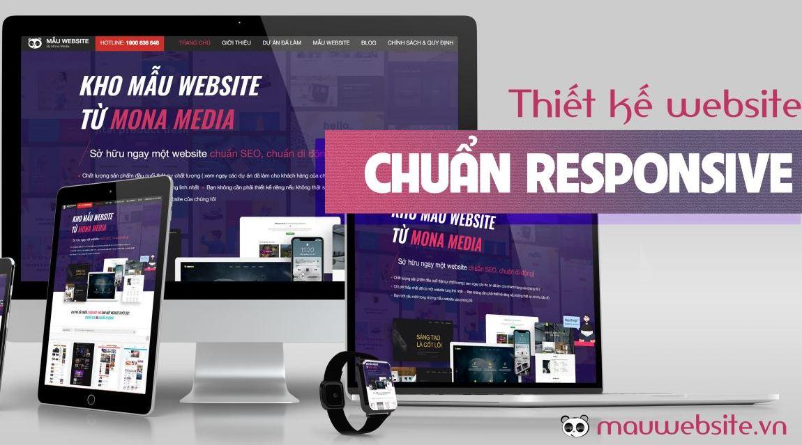 Thiết kế website responsive - đa nền tảng