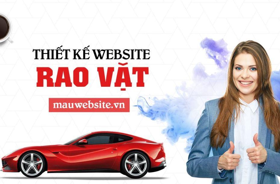 Thiết kế website rao vặt trực tuyến