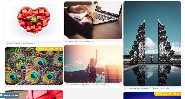 Picjymbo - website tải ảnh chất lượng cao miễn phí