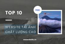 Top 10 website tải ảnh chất lượng cao miễn phí