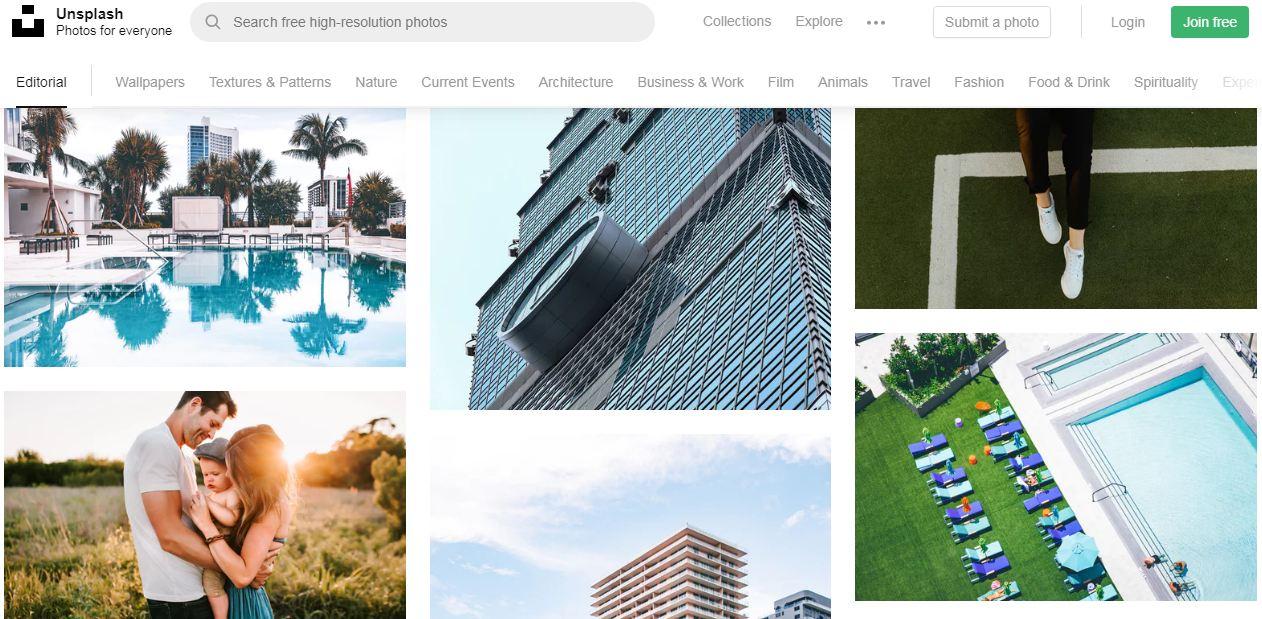 Unsplash - website tải ảnh chất lượng cao miễn phí hàng đầu