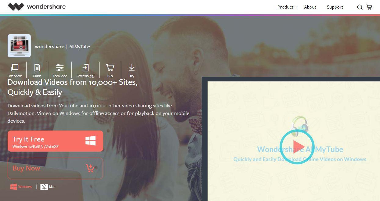 Allmy tube - phần mềm download video hàng đầu