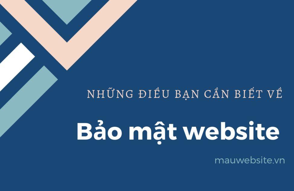 Bảo mật website là gì? Những điều bạn cần biết