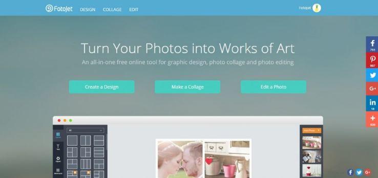 Fotoject - ứng dụng ghép ảnh