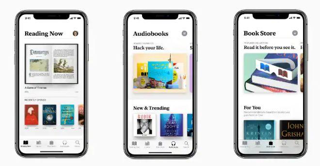 Ibooks - ứng dụng đọc sách online độc quyền của Apple