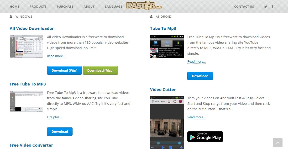 Kaster all video downloader