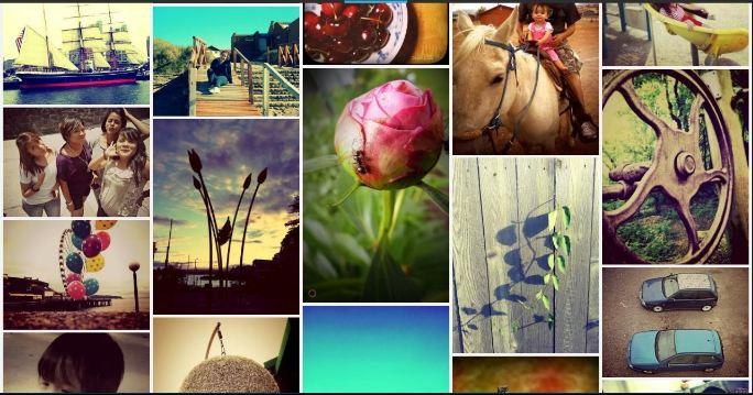 Studio photo collage