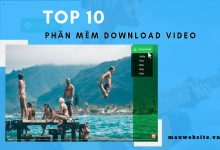 Top 10 phần mềm download video tốt nhất