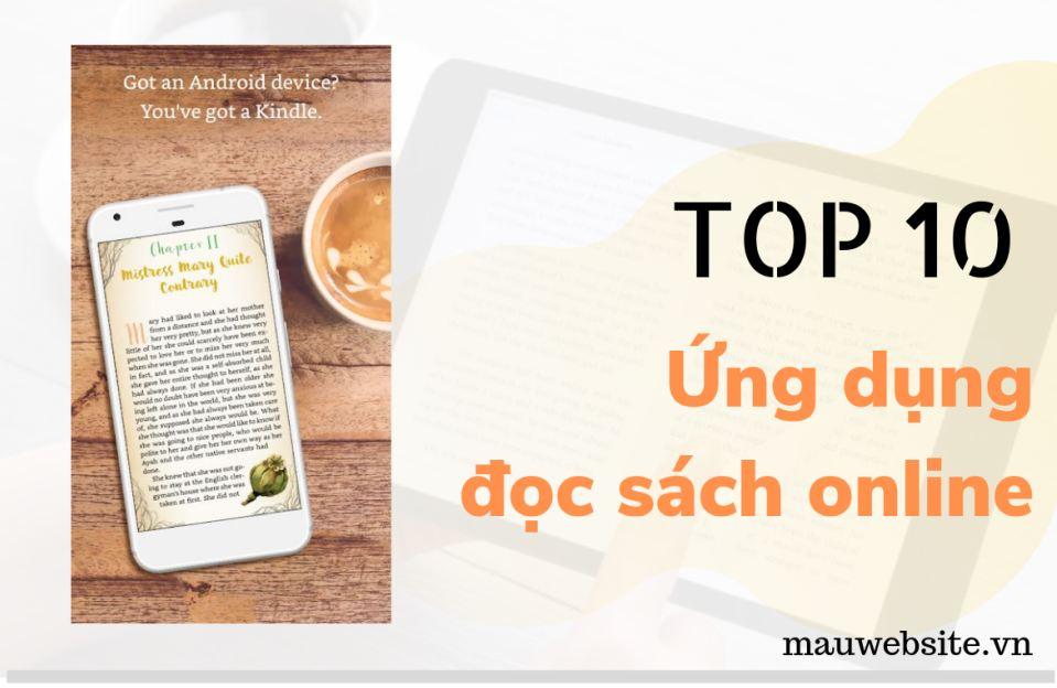 Top 10 ứng dụng đọc sách online - kho sách nói
