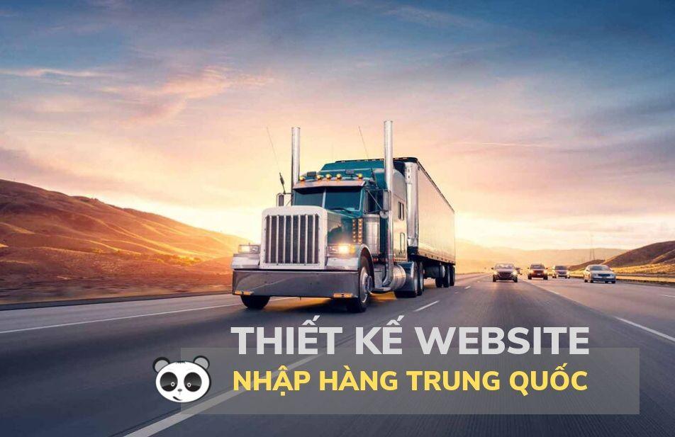 Thiết kế website nhập hàng Trung Quốc - order taobao