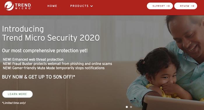 Phần mềm Antivirus - Trend Micro