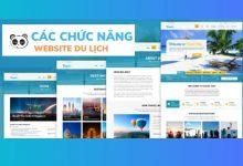 Chức năng cần thiết cho website du lịch