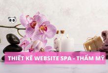 Thiết kế website Spa - thẩm mỹ viện