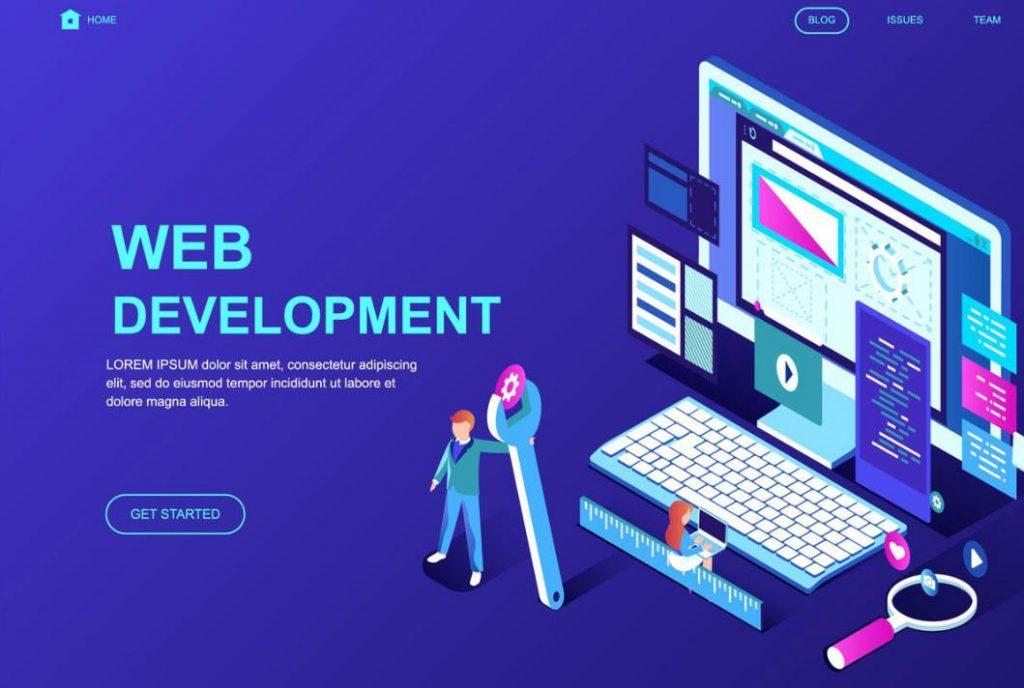 Xu hướng thiết kế website phối màu dạ quang