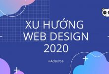 top xu hướng thiết kế website