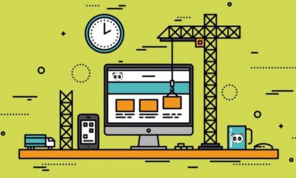 Trang chủ website công ty xây dựng