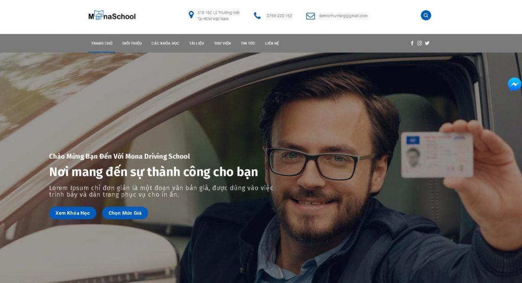 Xây dựng website giới thiệu tổng quát doanh nghiệp
