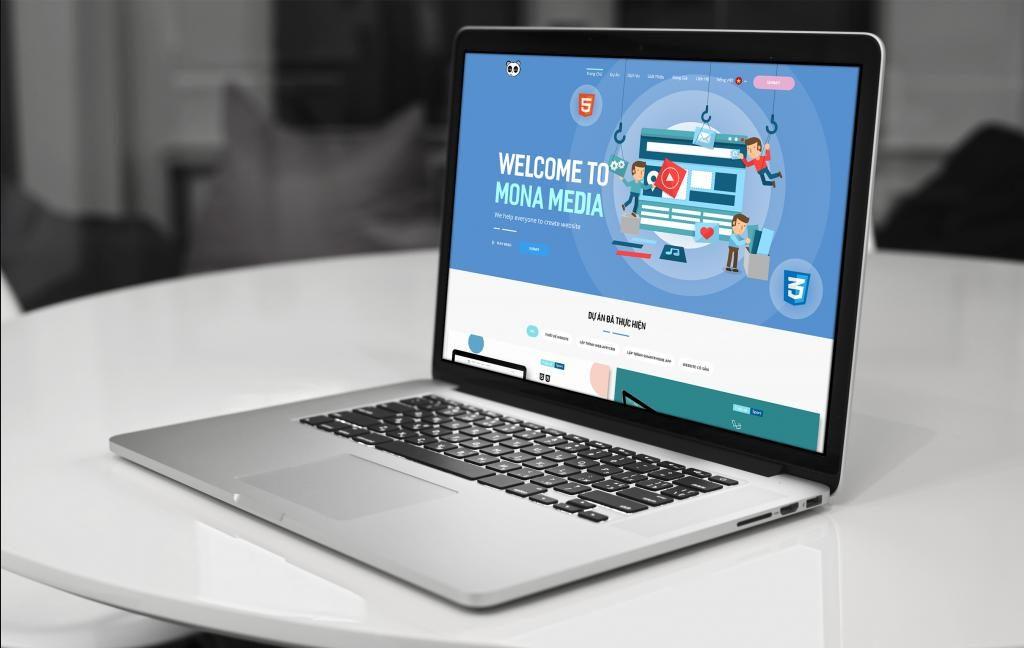 Dịch vụ convert PSD to HTML của Mona Media