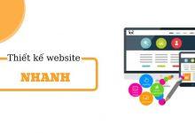 Thiết kế website nhanh chuẩn SEO, giả rẻ hàng đầu