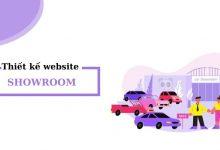 Thiết kế website showroom theo yêu cầu