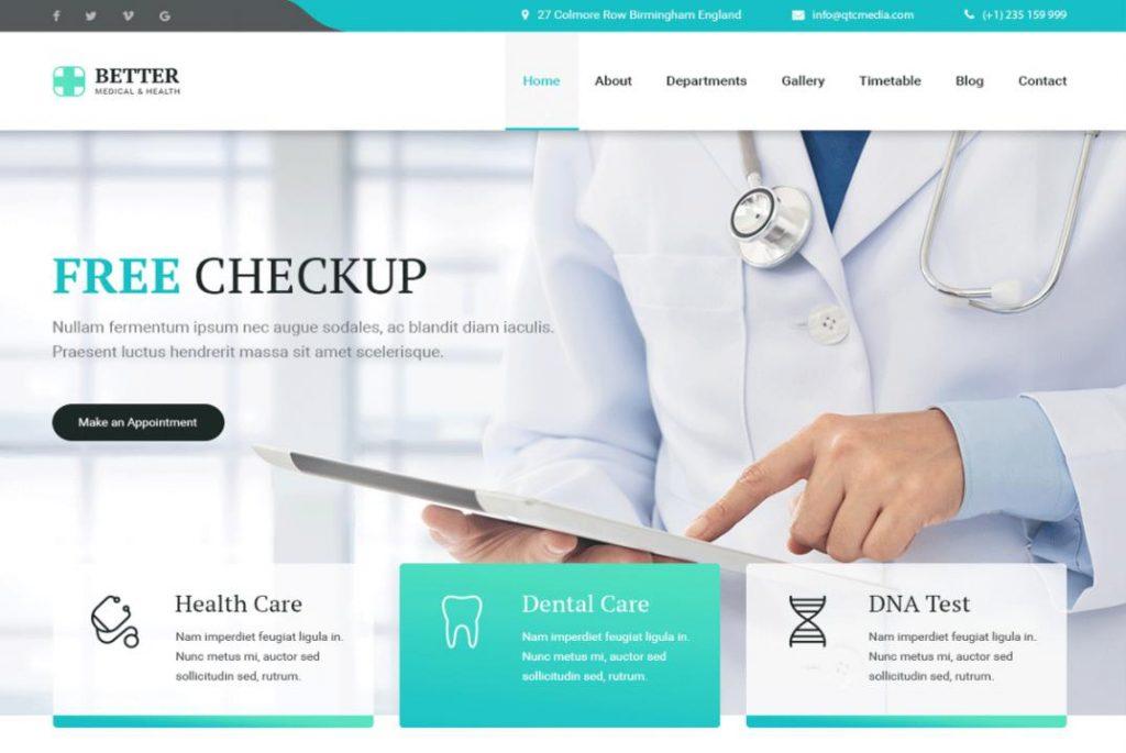 Lợi ích khi sở hữu hiết kế website phòng khám nha khoa - bệnh viện chuyên nghiệp