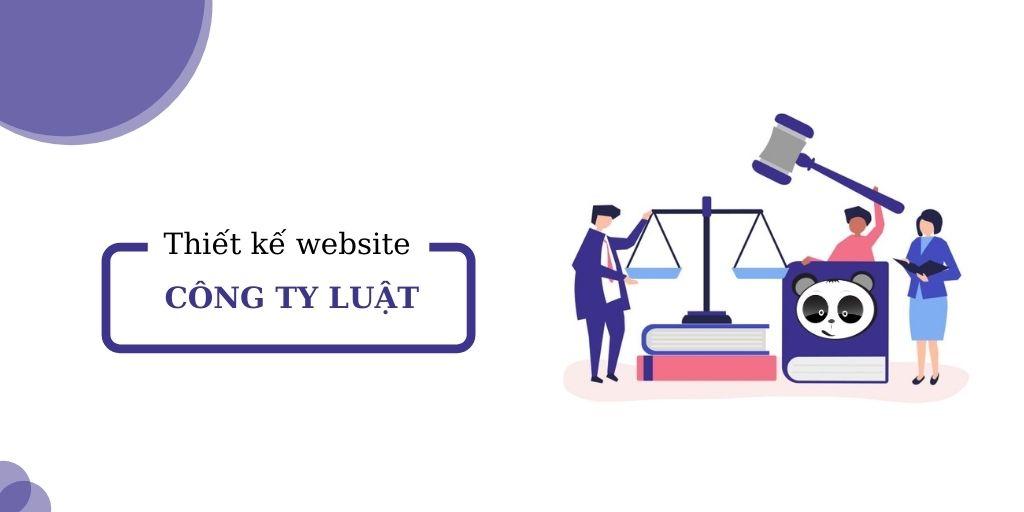 Thiết kế website công ty luật, văn phòng luật - pháp lý
