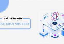 Thiết kế website nha khoa chuyên nghiệp Mona Media
