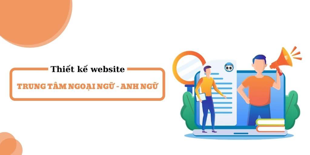 Thiết kế website trung tâm Ngoại ngữ - Anh ngữ - Tin học hiện đại