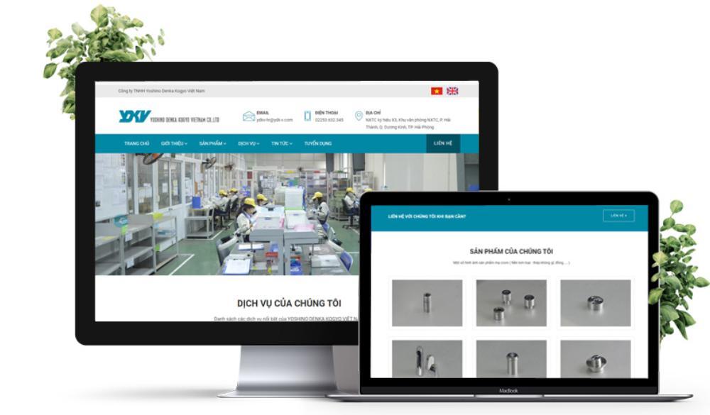 Những module quan trọng trong thiết kế website nhà máy - xí nghiệp