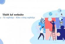 Thiết kế website nhà máy - xí nghiệp - khu công nghiệp