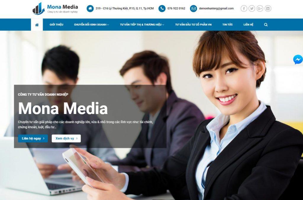 Các tính năng cơ bản của website kế toán - tài chính doanh nghiệp