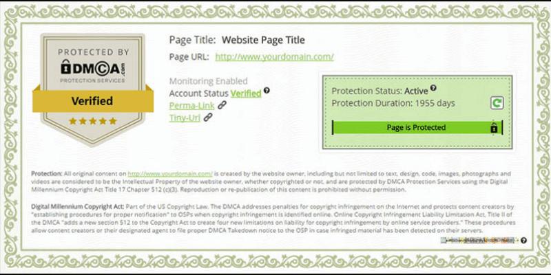 bảo vệ bản quyền bằng dmca