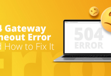 cách sửa lỗi 504 gateway time-out